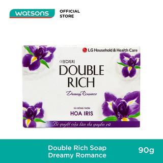 Xà Bông Double Rich Hương Hoa Iris 90g-1