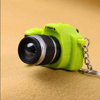 【tns】Cute Mini Toy Camera Charm Keychain With Flash Light&Sound Effect Gift【VN】