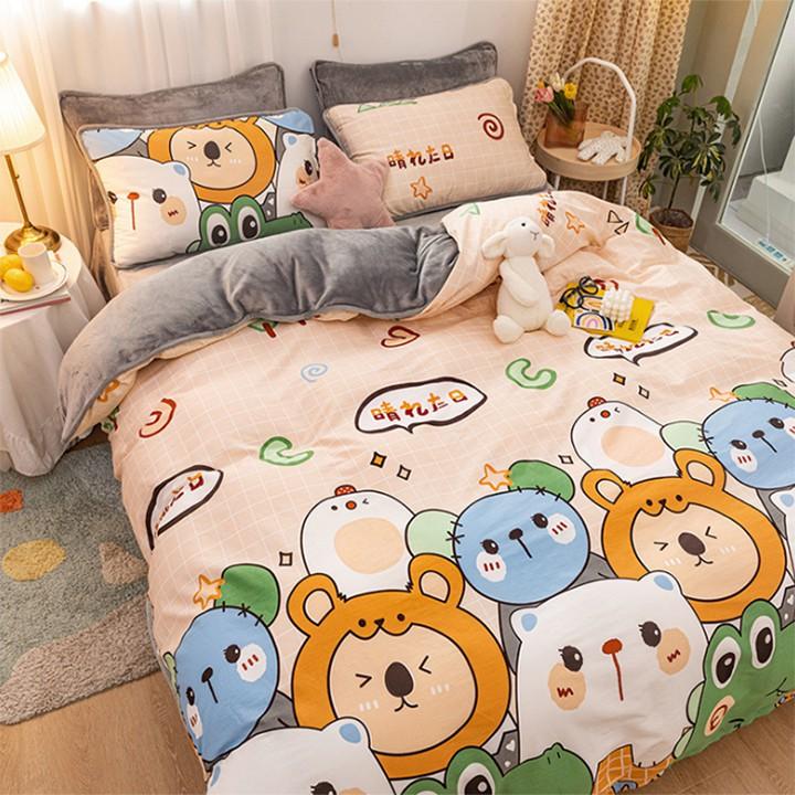 Ga trải giường chống thấm cotton 2 lớp loại tốt kích thước 1m6*2m, 1m8 *2m siêu mềm, siêu đẹp 1 món supper cheap