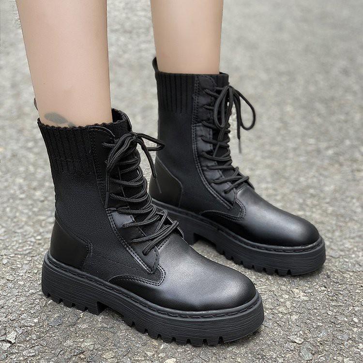 【จัดส่งฟรี】วงสีดำด้านล่างหนาท่อหัวรถจักรลมอังกฤษปลายแบนเย็นบางส่วนรองเท้าบางเดียว