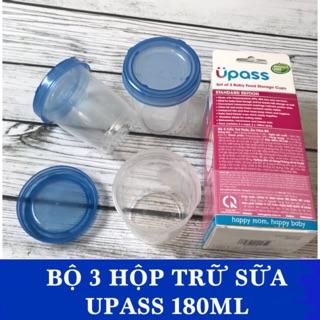 Bộ đựng sữa và thức ăn cho bé UPASS 180ml thumbnail