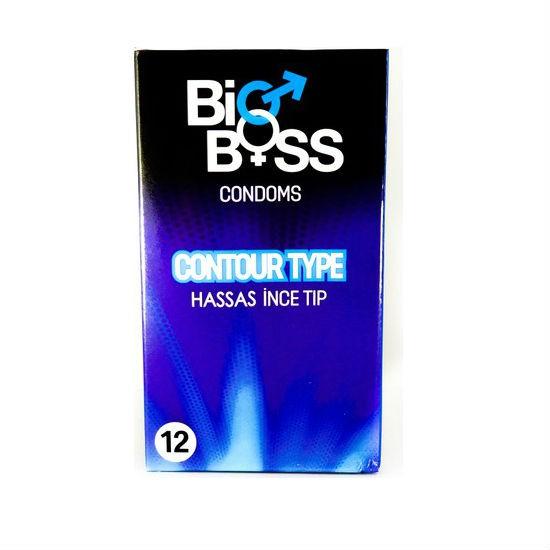 Bao cao su bổ sung gel bôi trơn Bigboss Contour Type chất lượng cao - 12 chiếc