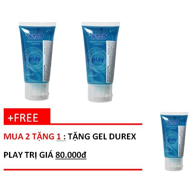 Bộ Mua 2 tặng 1 Gel Durex Play 50ml- Cam kết chính hãng