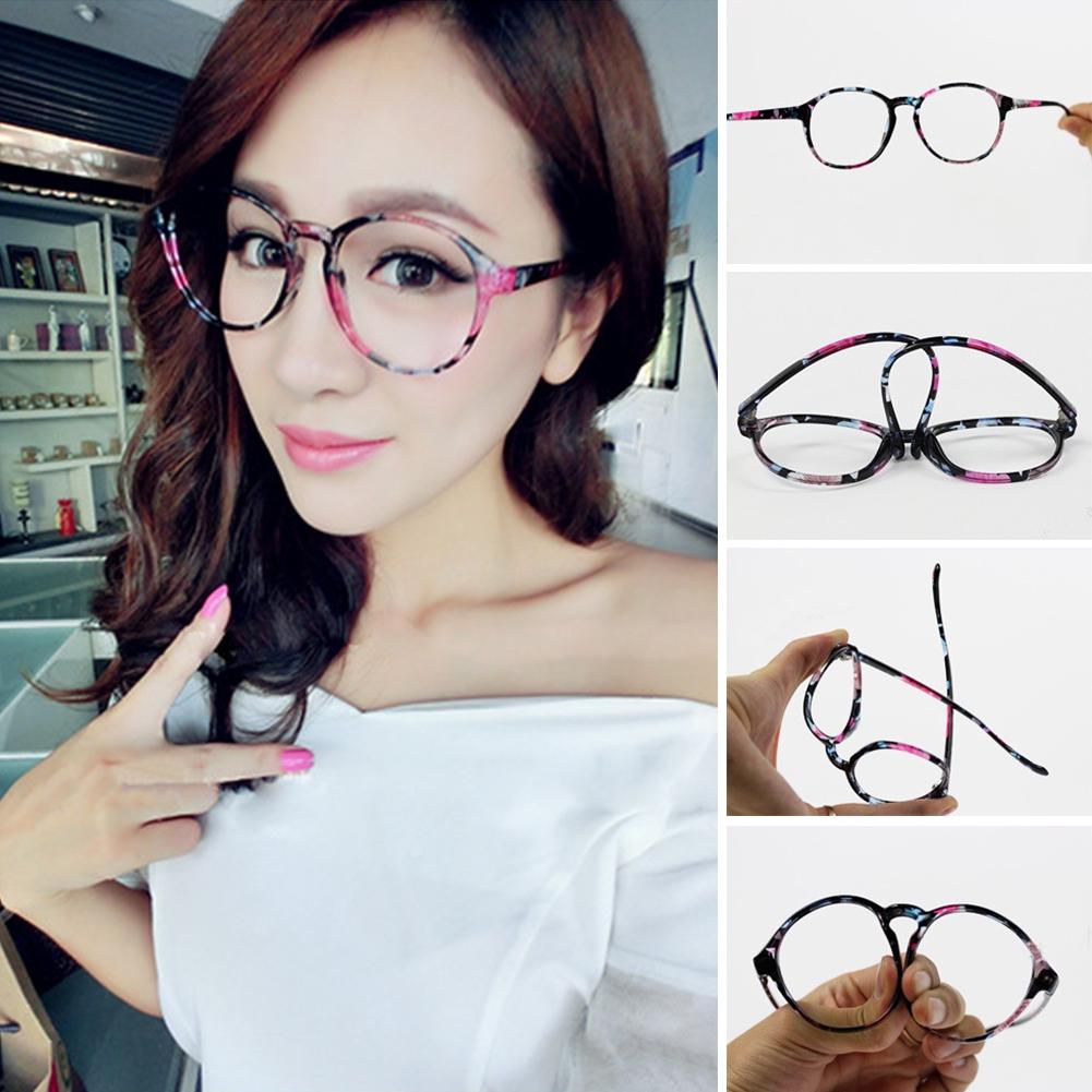 Women Optical Glasses Cat Eye Earmuffs winter warm earmuffs female Floral cute ear decoration Reading