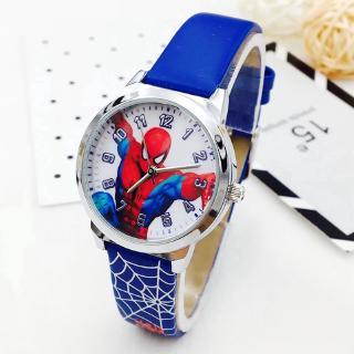 Đồng hồ đeo tay in hình spider man thời trang cho trẻ Z0020