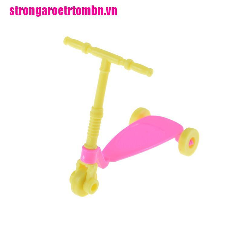 【Omvn】Mini Scooter Toy for Barbie Accessories Doll Accessories Birthday Gifts