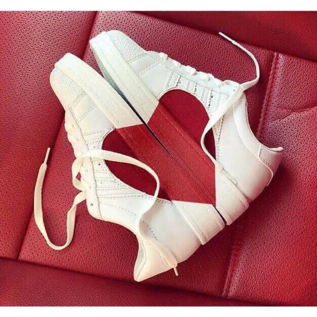 Giày thể thao nữ sò tim - Mã 166