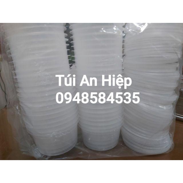 Hộp đựng caramen (50 hộp kèm nắp) | Flan cake mold (50pcs/set with lids)