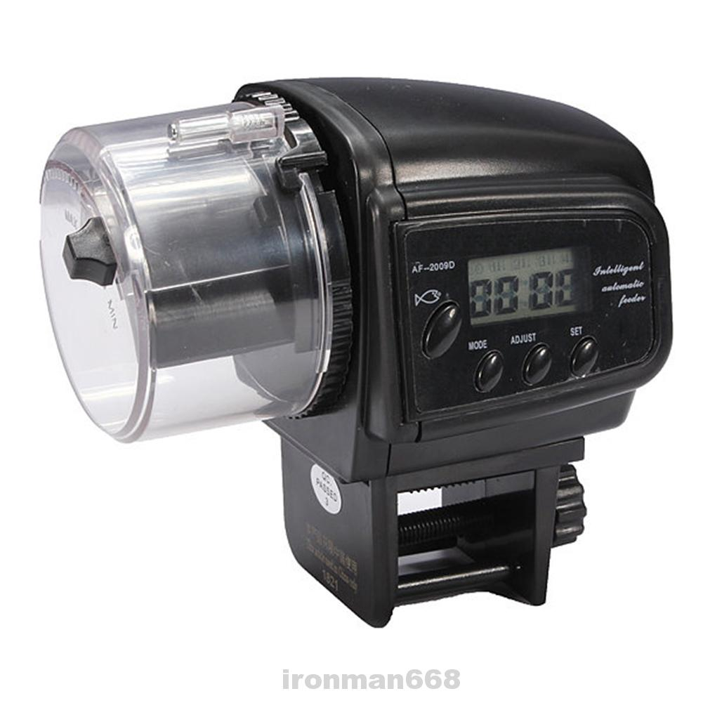Aquarium Automatic LCD Timer Fish Tank Feeder Dispenser
