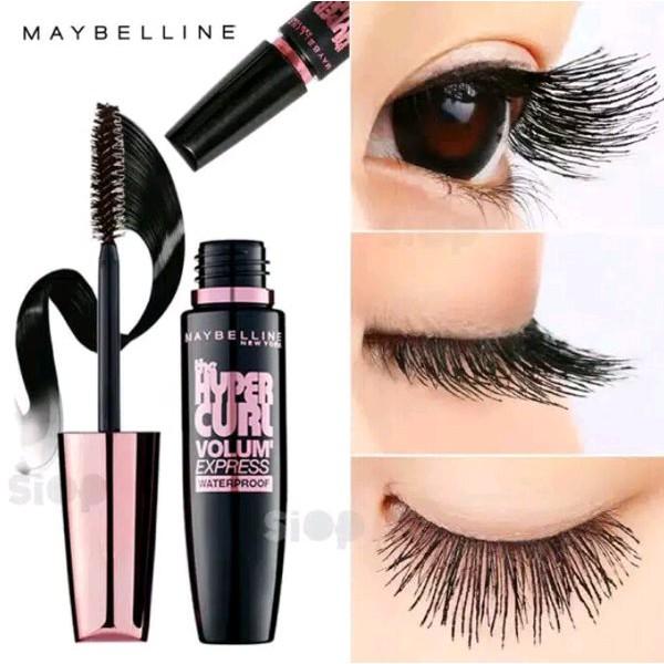 Mascara làm dày và cong mi MAYBELLINE Hyper Curl 9.2ml   Shopee Việt Nam
