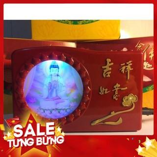 Đài niệm Phật 20 bài – Hình Ngài Quan Thế Âm toả hào quang – Siêu HOT