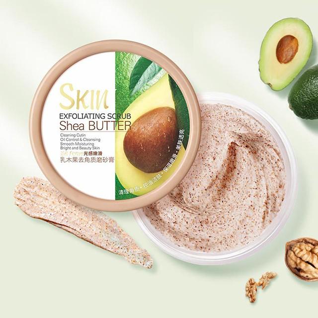 Tẩy Tế Bào Chết Skin Exfoliating Scrub Shea Butter 100G cao cấp