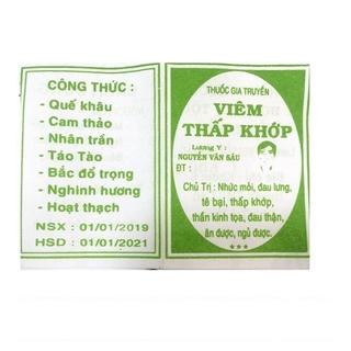 V.K Nguyễn Văn sáu 100 gói