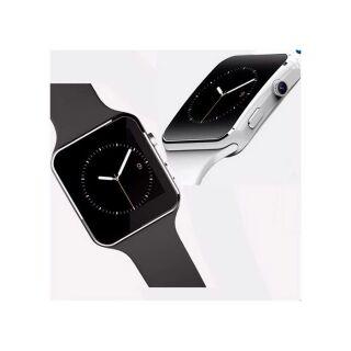 Đồng hồ thông minh Smartwatch X6 màu đen màn hình cong cao cấp thumbnail