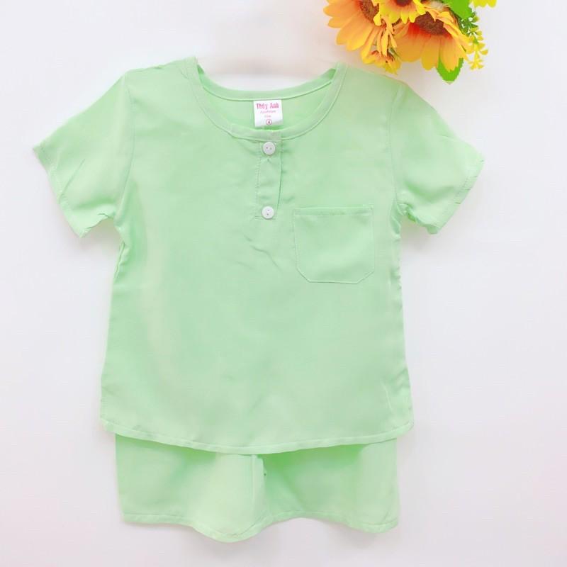 Bộ tole ngắn/dài bé trai size 3: 8-9kg vải loại 1 (inbox chọn mẫu)