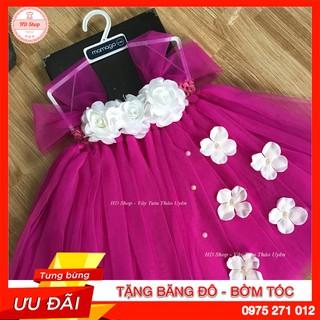 Váy tu tu cho bé ❤️FREESHIP❤️ Váy tu tu hồng 10h cho bé gái thôi nôi