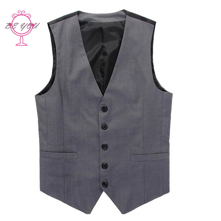♪BY 2015 New British style Men's Fashion Joker Trend Waistcoat Leisure Suit Vest