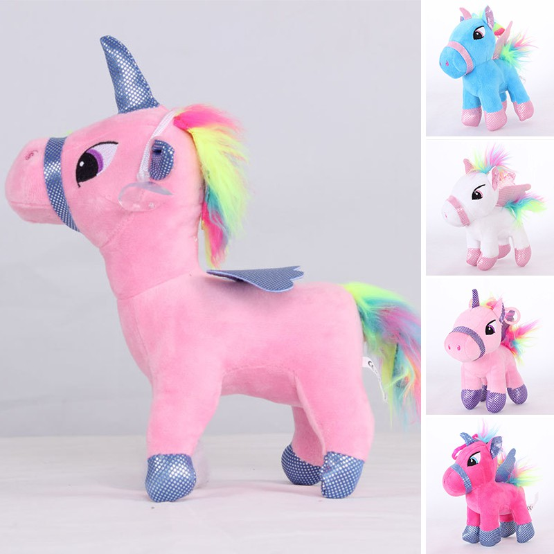 Cute Horse Doll Decoration Toys Tabletop Home Ornaments Children Kids Toy