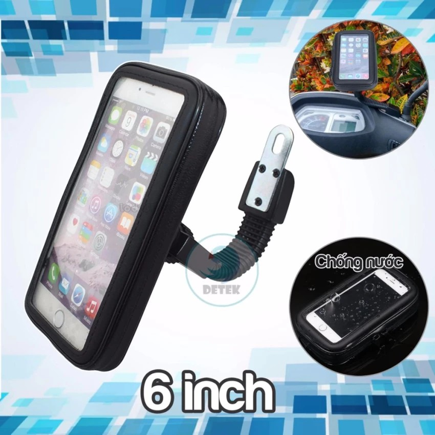 Giá đỡ chống nước cho điện thoại từ 5.5 - 6 inch trên xe máy K66 - 3096996 , 489252661 , 322_489252661 , 99000 , Gia-do-chong-nuoc-cho-dien-thoai-tu-5.5-6-inch-tren-xe-may-K66-322_489252661 , shopee.vn , Giá đỡ chống nước cho điện thoại từ 5.5 - 6 inch trên xe máy K66
