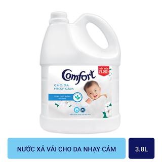 Nước xả vải Comfort Cho Da Nhạy Cảm chai 3.8L