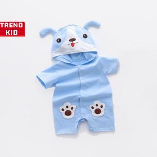 Body thú cho trẻ sơ sinh hình cún xanh BABYWANT thumbnail