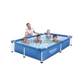 Quocbao222 Bể Bơi Bestway 56401 Kích Thước 221cm X 150cm X 43cm