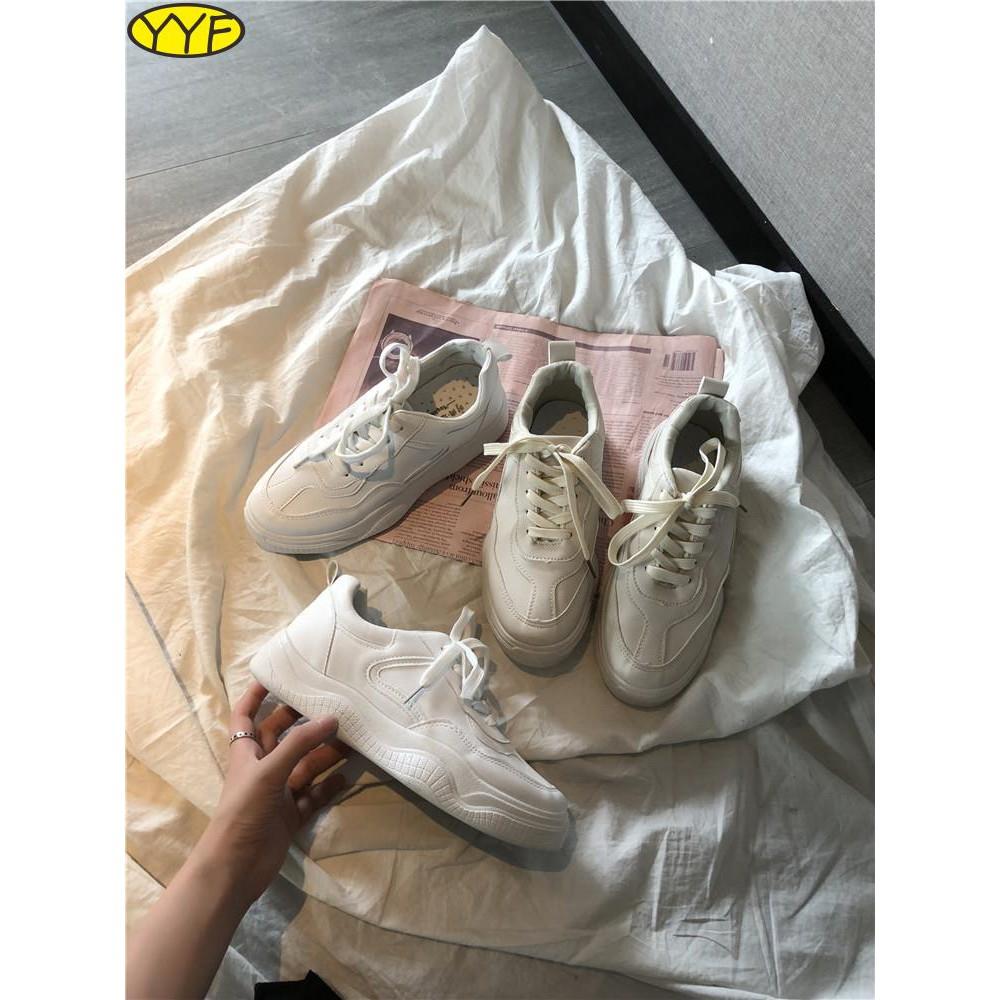 รองเท้าผู้หญิงที่มีคุณภาพสูง, รองเท้าผู้หญิงเก่าและสีขาว, ฤดูใบไม้ผลิ, รูปแบบใหม่, ฮ่องกง, ลม, รองเท้ารมควัน, ภูเขา, กีฬ