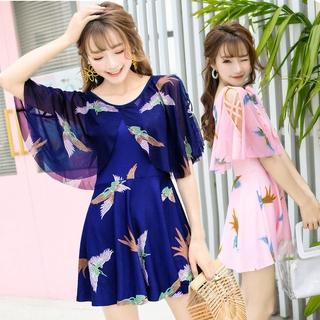 2021 áo tắm váy mới, áo tắm hoa gợi cảm và đẹp mắt, với miếng đệm ngực, quần áo đi biển, thể thao ngoài trời