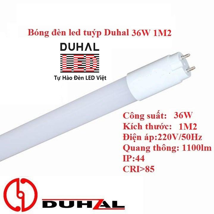 Bóng đèn tuýp led Duhal 36W 20W 1m2 10W 0m6