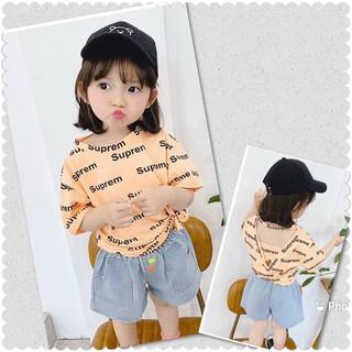 Lyvyshop - (Cotton SG chính phẩm) Áo thun bé gái siêu dễ thương từ 09-28kg