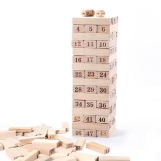 Trò chơi rút gỗ rèn luyện trí thông minh – 54 thanh