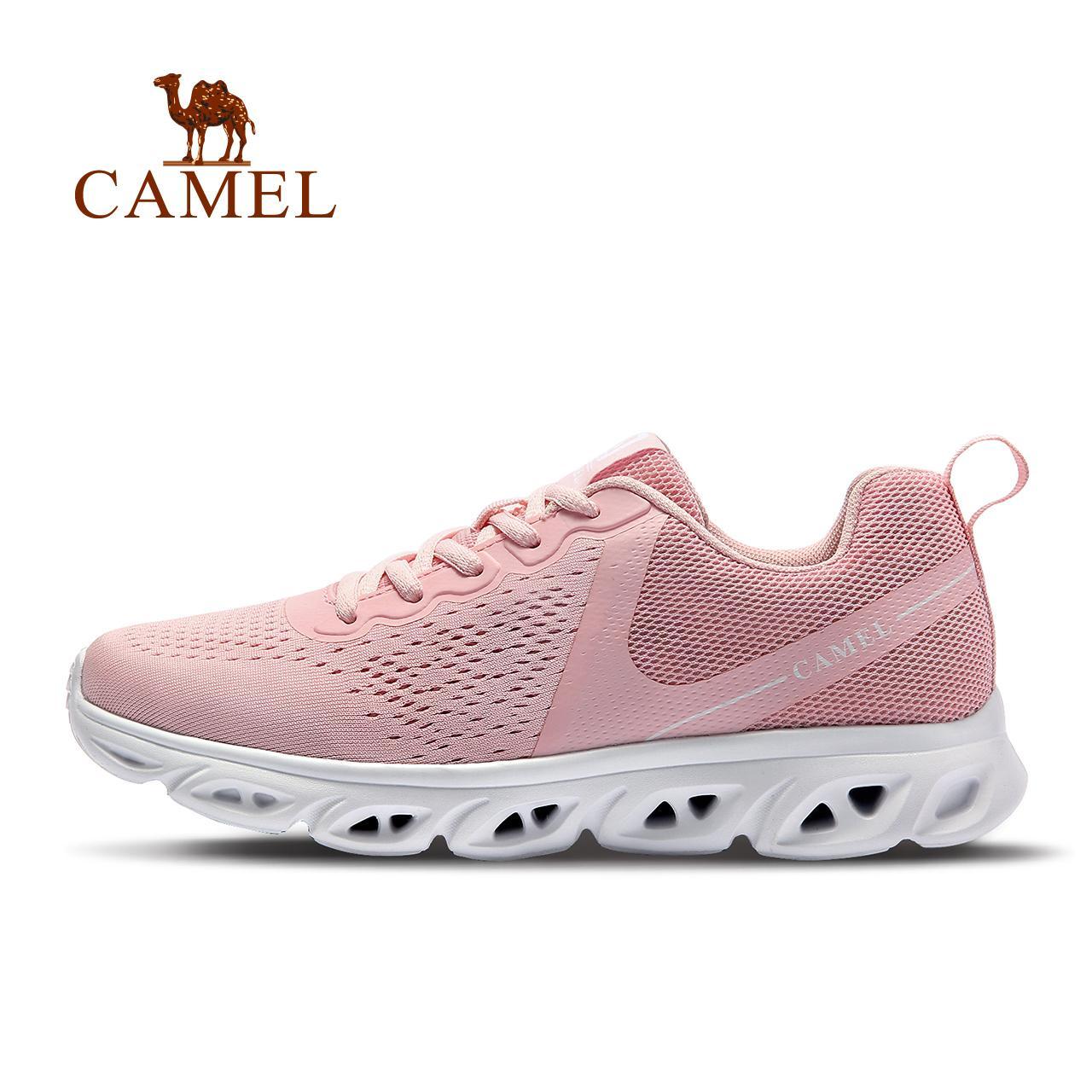 Giày thể thao chạy bộ CAMEL có đệm nhẹ thoáng khí sử dụng thường ngày thời trang cho nữ