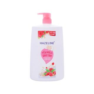 Sữa tắm Hazeline yến mạch dâu tằm matcha lựu đỏ 1.2kg sữa tắm dưỡng ẩm sáng da rạng ngời thuần khiết thumbnail