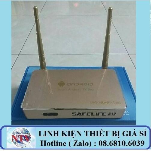 Androi tivi box Safelife A12