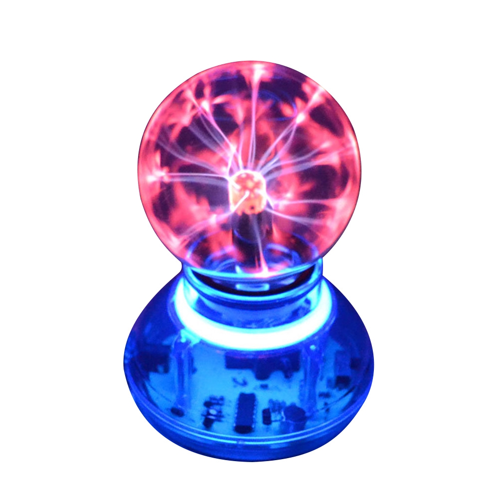 Atmosphere Electrostatic Music Plasma USB Sound Control Ball Light