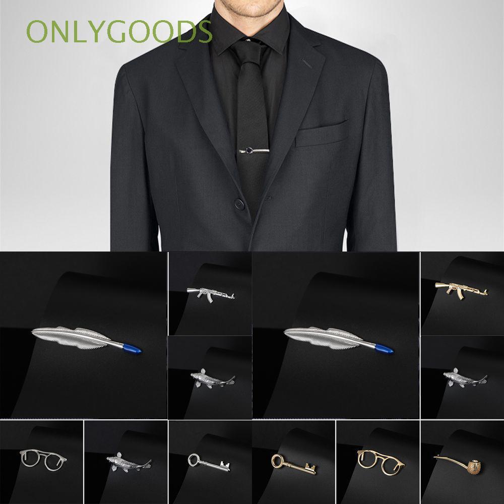 Kẹp cà vạt nam nhiều màu sắc kiểu dáng sang trọng