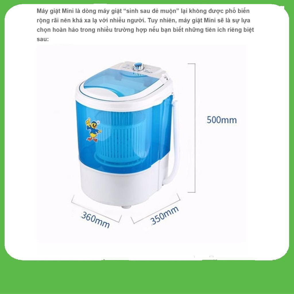 [GIÁ SỈ]  Máy giặt mini gia đình, sinh viên- 4.5 L