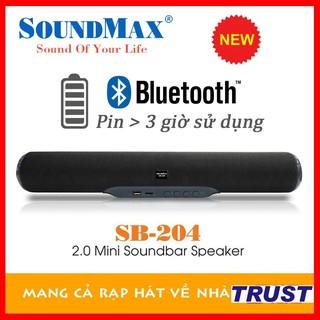 [Mã ELMS4 giảm 7% đơn 500K] Loa thanh Soundbar Bluetooth kiêm di động SoundMax SB204 - Chính hãng mới 100% thumbnail