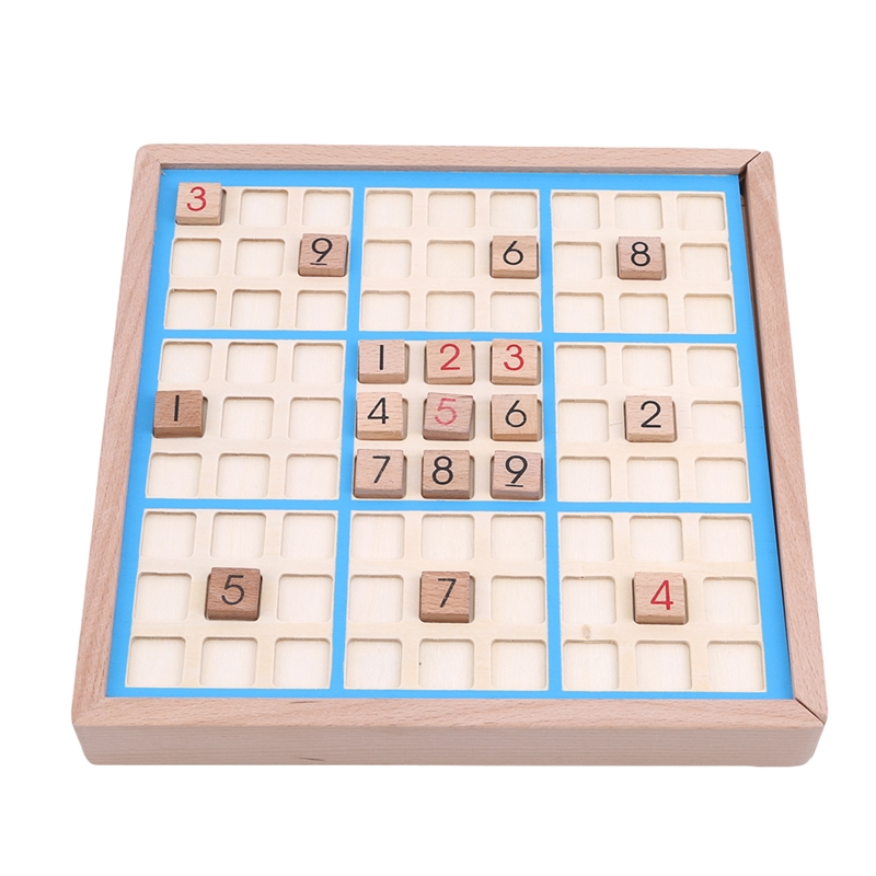 Children Chess Beech With Tray Wooden International Checkers Folding Game Table Toy Gift