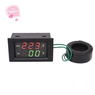 【Persediaan】 AC 220V 110V 100A 200A Digital Display AC Current Voltage Meter Test Instrument D85-2042A Tools
