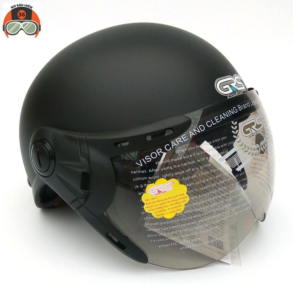 Mũ bảo hiểm nửa đầu GRS A33k nhiều màu