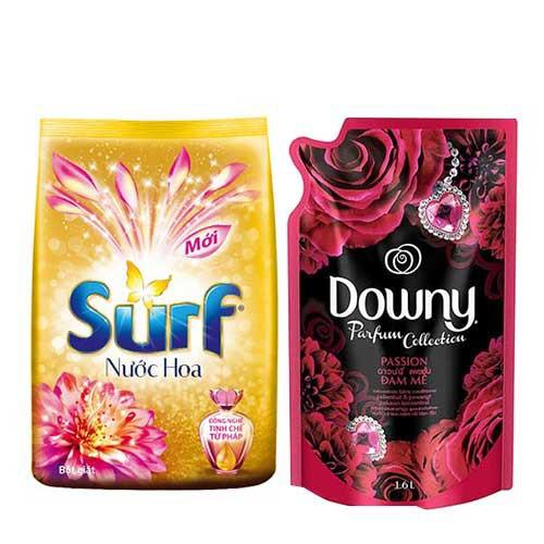 Combo Bột giặt surf 5.5kg và nước xả vải Downy 1.5lit- Chính Hãng - 10021653 , 366007207 , 322_366007207 , 251000 , Combo-Bot-giat-surf-5.5kg-va-nuoc-xa-vai-Downy-1.5lit-Chinh-Hang-322_366007207 , shopee.vn , Combo Bột giặt surf 5.5kg và nước xả vải Downy 1.5lit- Chính Hãng