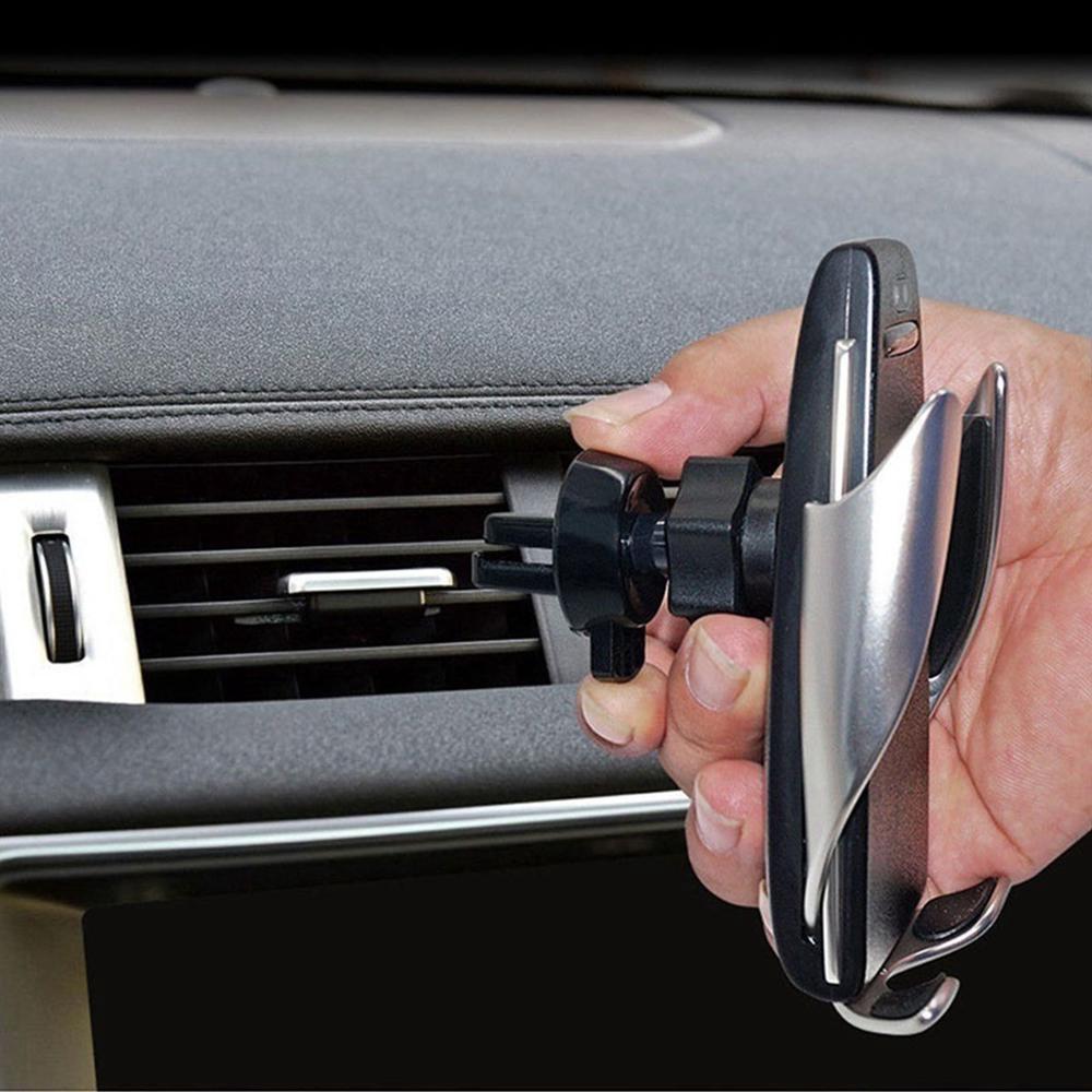 Giá đỡ điện thoại tự động sạc nhanh cho xe hơi cho iPhone HUAWEI Samsung
