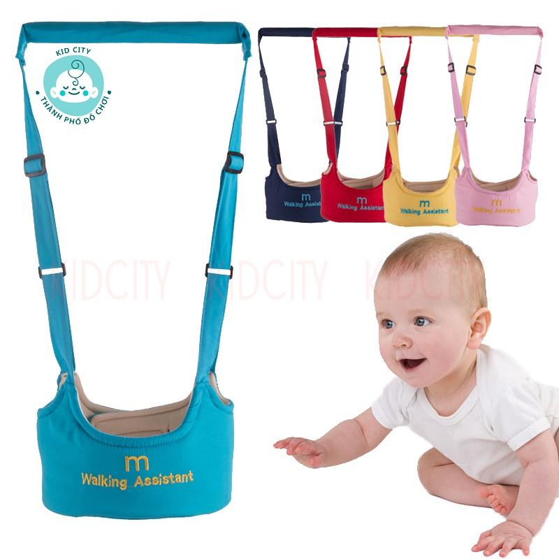 [Mã 267FMCGSALE giảm 8% đơn 500K] Đai tập đi Walking Assistant cho bé, giúp bố mẹ không bị đau lưng, con nhanh biết đi