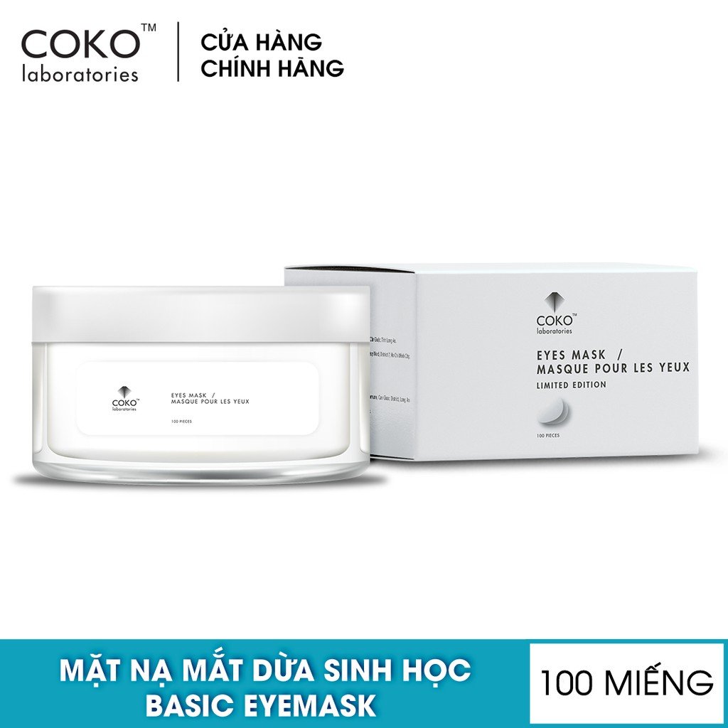 Mặt Nạ Mắt COKO Eyes Mask - White 100 Miếng