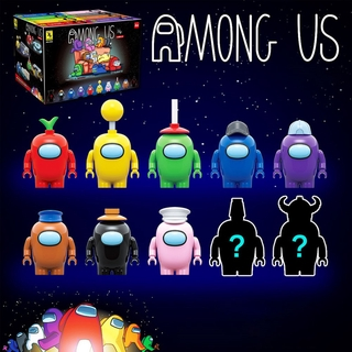 Among us plush Space Werewolf Killing Game Block Blind Box Toy