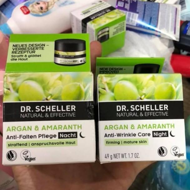 Kem dưỡng da ban đêm Dr. Scheller Anti-Wrinkle Care chống nhăn Đức