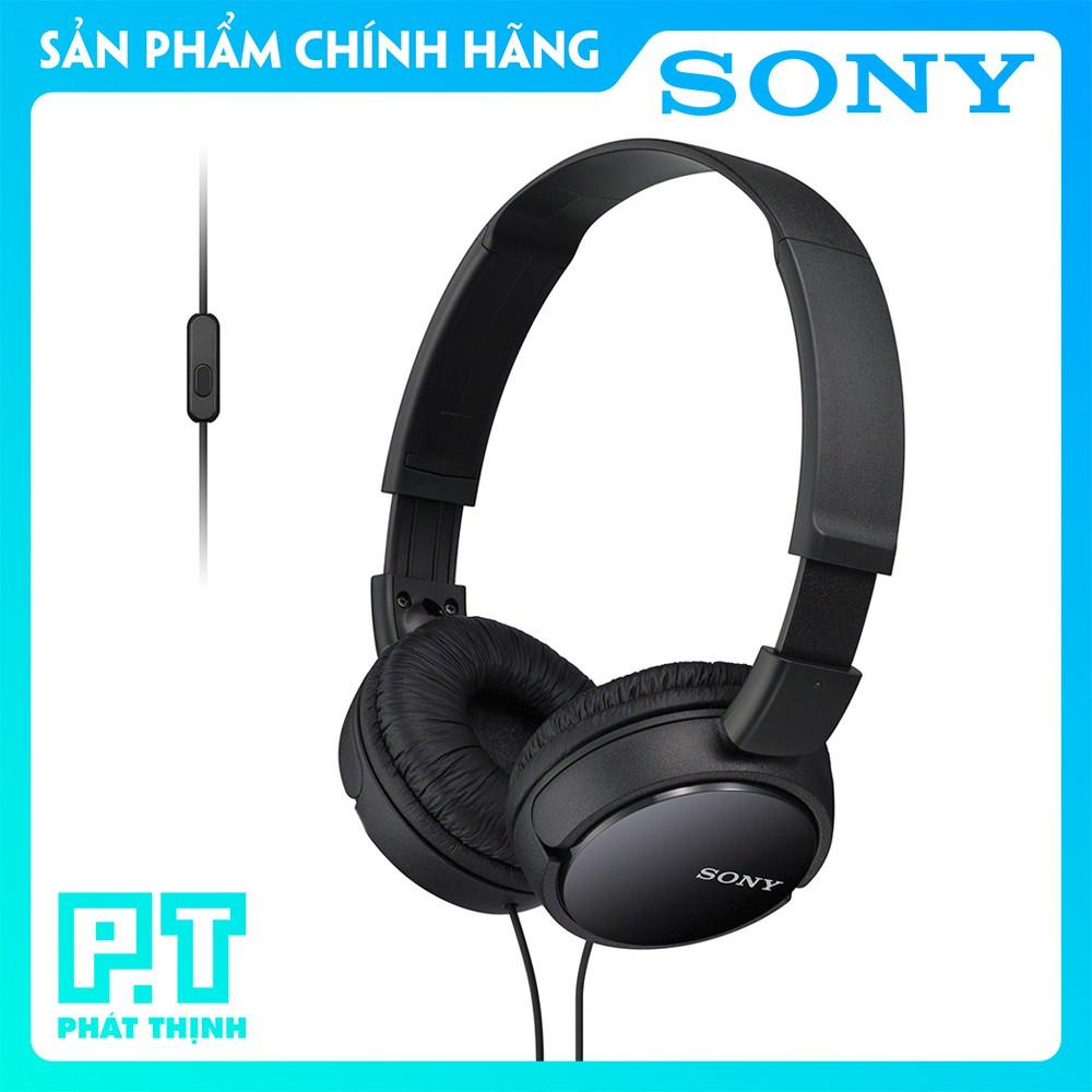 Tai nghe chụp tai Sony MDR - ZX110AP - HÀNG CHÍNH HÃNG (Màu: Đen)