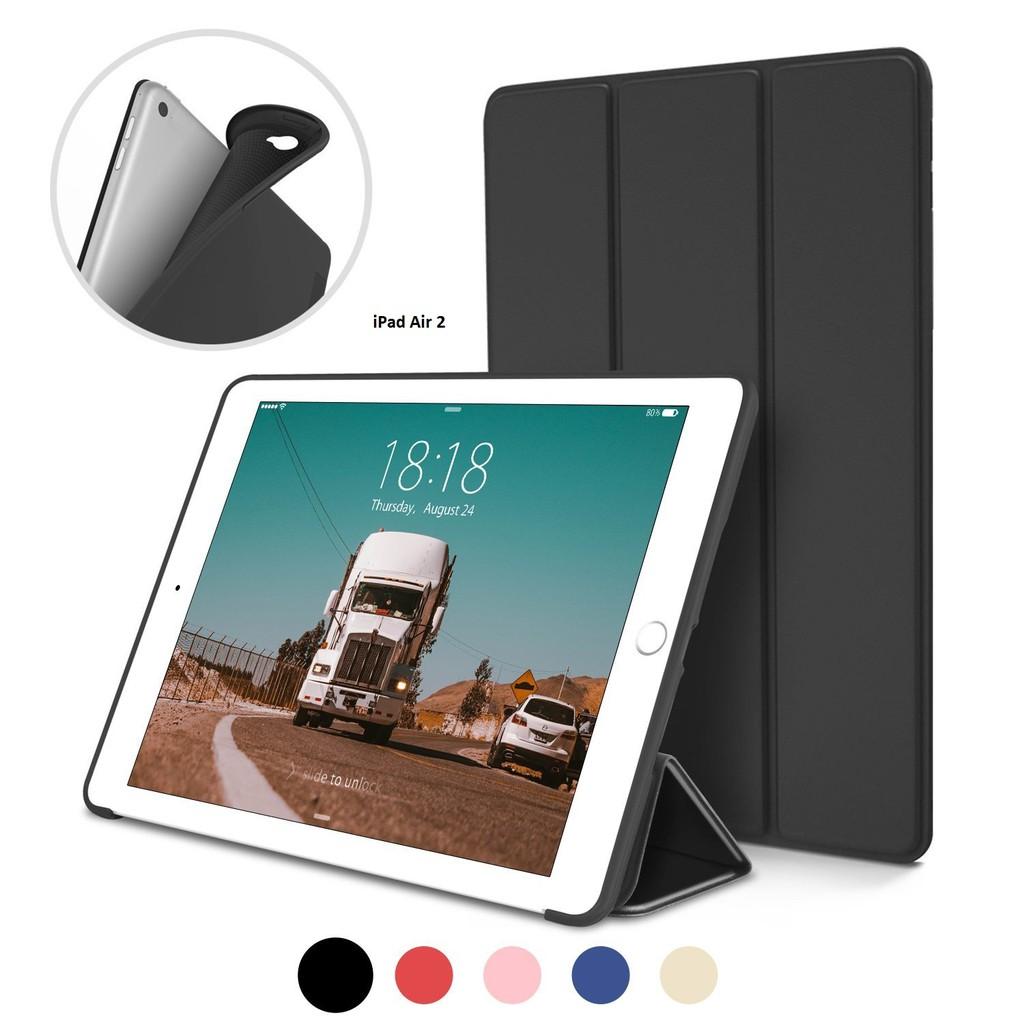 Bao da kiêm ốp lưng cho iPad Air 2(Đen) M1