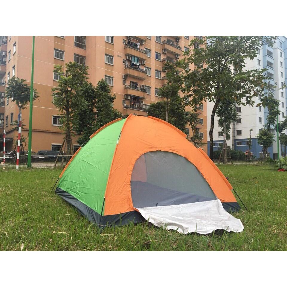 Lều du lịch, cắm trại 4 người, cỡ to 2m*2m